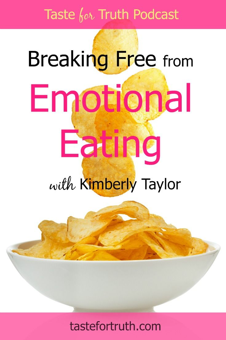 Do you struggle with emotional eating? In this podcast episode, Kimberly Taylor shares how she went to God for help with emotional eating and went from a size 22 to a size 8.