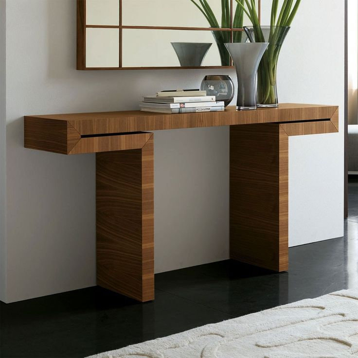 Porada Miyabi Canaletto Walnut Console Table   Designer Furniture. 9 best Console table images on Pinterest   Console tables