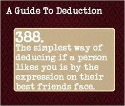 Image result for guide to deduction