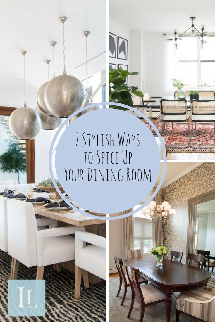"""Indulge in our dining room tips! Designing a dining room can be an exciting project because it's an excuse to add some elegance and sophistication for when all of those special holiday occasions come around. On that note, check out these 7 helpful tips on how to spice up your dining room and ultimately show off your design """"chops"""" to all of your dining guests!"""