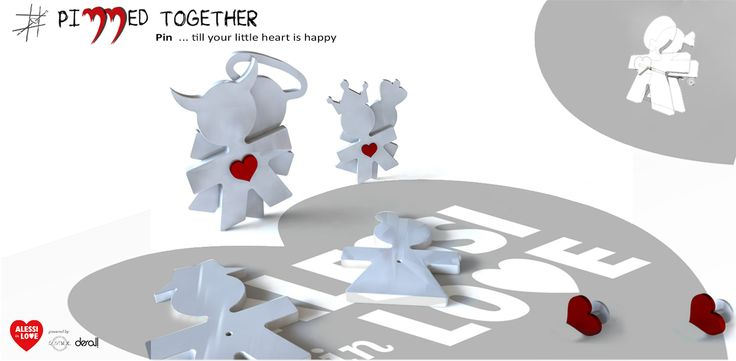 "Object Design Competition ""Alessi In Love - Everytime an Act of Love"" - Pinned"