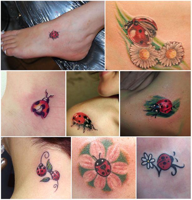 Garota Carioca: Inspiração: tattoo de joaninha!