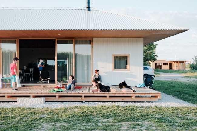 Dům bude sloužit jako útočiště pro pětičlennou rodinu žijící ve městě