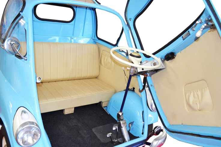Isetta Isocarro and microcars, a lesser-known but much-loved class of post-war European vehicles.