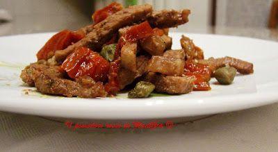 Il Pomodoro Rosso di MAntGra: Straccetti di manzo e pomodorini