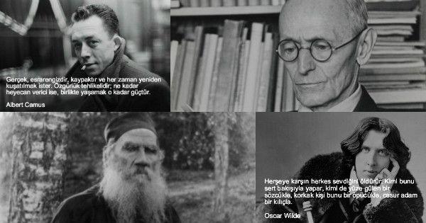 20 Ünlü Düşünürün Tarihe Geçen Sözleri