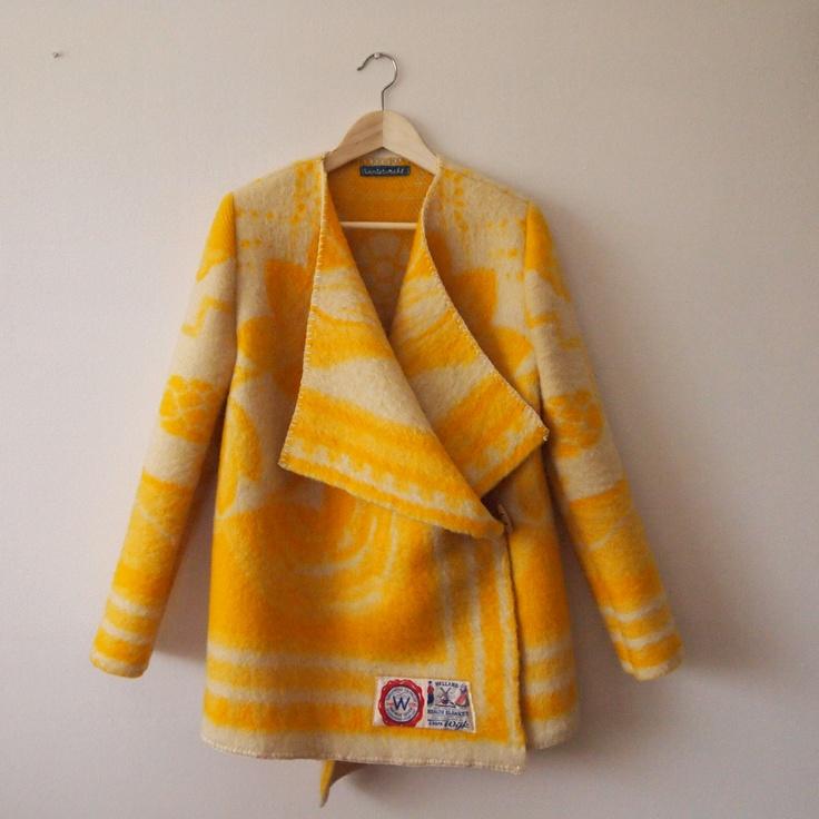 oude wollen deken wordt wintervachtjas