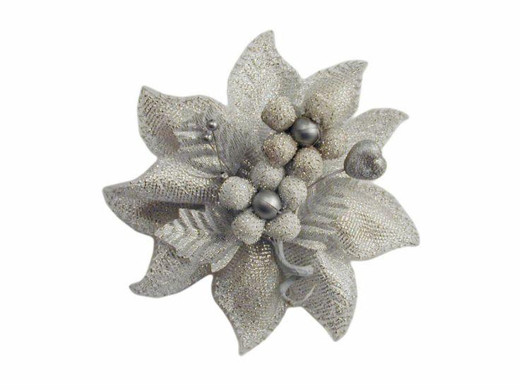 Confezione portaconfetti per nozze argento effetto brillante