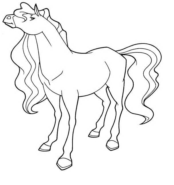 free printable horseland coloring pages for