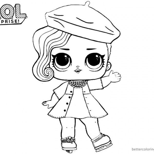 Lol Surprise Coloring Pages Posh Coloring Books Coloring Pages Cartoon Coloring Pages