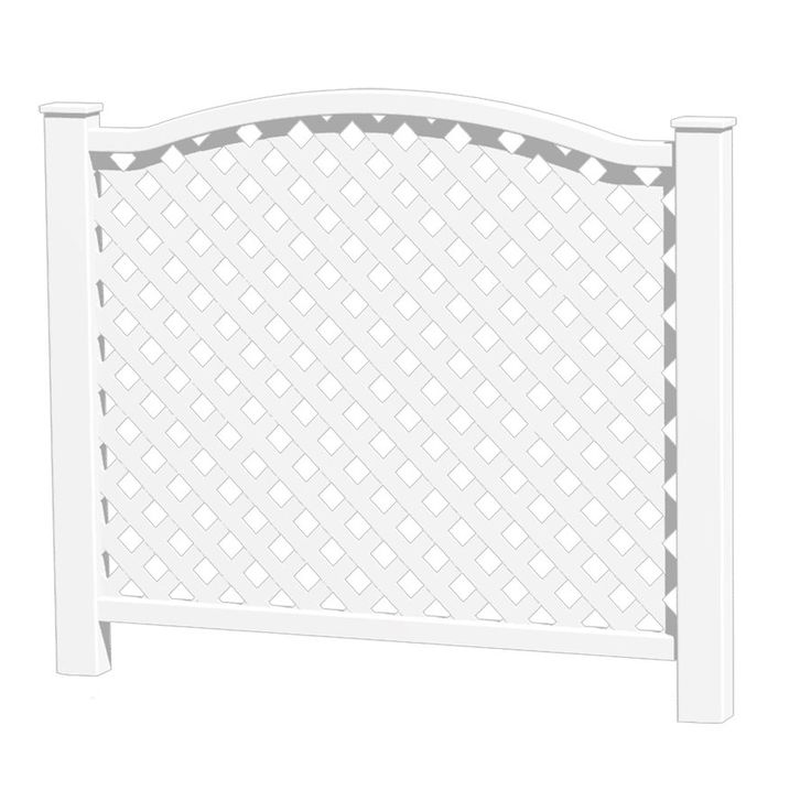 Shop Barrette 37 75 In X 38 3 In Vinyl Fence Panel At Lowe