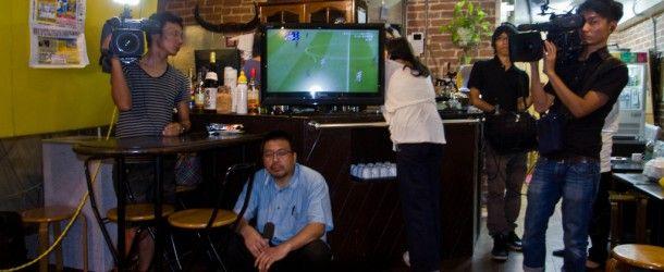 Jeux Olympiques 2012: Japon vs France – suis-je passé à la TV?