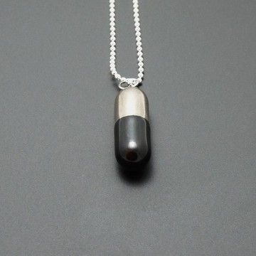 Capsule Pendant Black, $72, now featured on Fab.