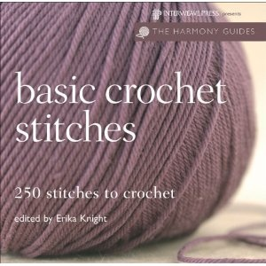 crochetCrochet Basic, Harmony Guide, Crafty, Basic Crochet Stitches, Book, Crochetstitches, Crochet Knits, Crafts, Erika Knights