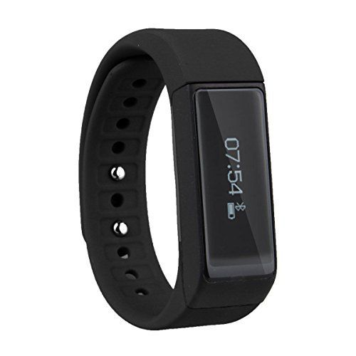 Multi-functional Fitness Tracker - Best for Sports and Exercise, Waterproof, Android and iOS Bluetooth Notification Compatibility, Black Smart Band - For Men and Women - http://www.exercisejoy.com/multi-functional-fitness-tracker-best-for-sports-and-exercise-waterproof-android-and-ios-bluetooth-notification-compatibility-black-smart-band-for-men-and-women/fitness/