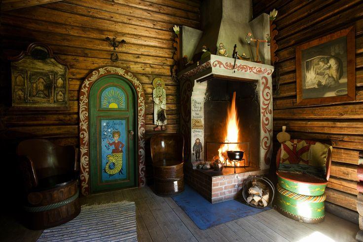 Lauvlia, the original home of the norwegian artist Theodor Kittelsen