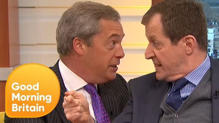 Piers Loses Control of Nigel Farage's Brexit Row With Alastair Campbell ...
