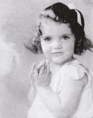 Jackie as a small child - from The Bouvier Family Album
