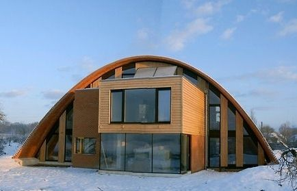 The Eco Arch by Richard Hawkes (as featured on Grand Designs)