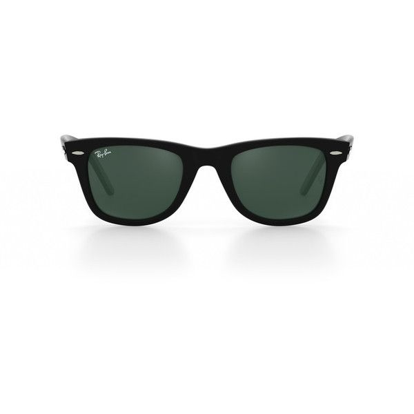 Look who's looking at this new Ray-Ban  original wayfarer sunglasses ❤ liked on Polyvore featuring accessories, eyewear, sunglasses, wayfarer style sunglasses, ray ban sunnies, ray ban wayfarer, wayfarer sunglasses and ray ban eyewear