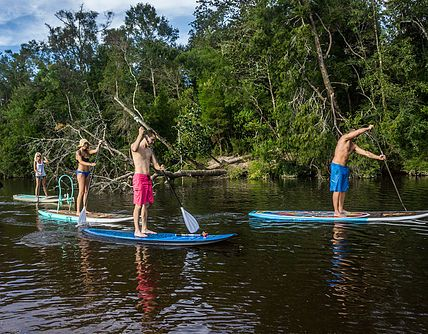 Paddles Up Paddleboard Rentals and Sales is Ocean Springs Mississippi's premiere SUP experience. Get Up and Stand Up today with Paddles Up!