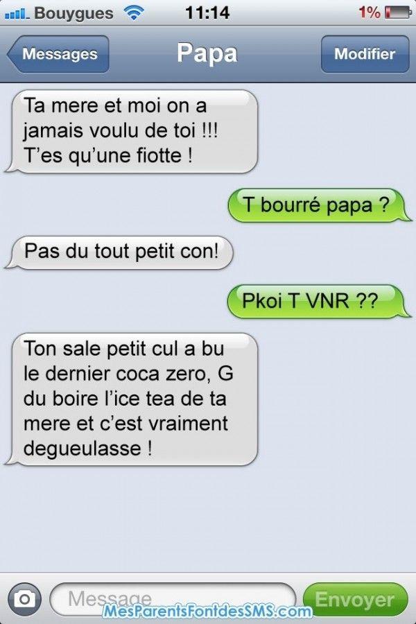 Item dans 18 SMS hilarants et gênants envoyés par des parents à leurs enfants