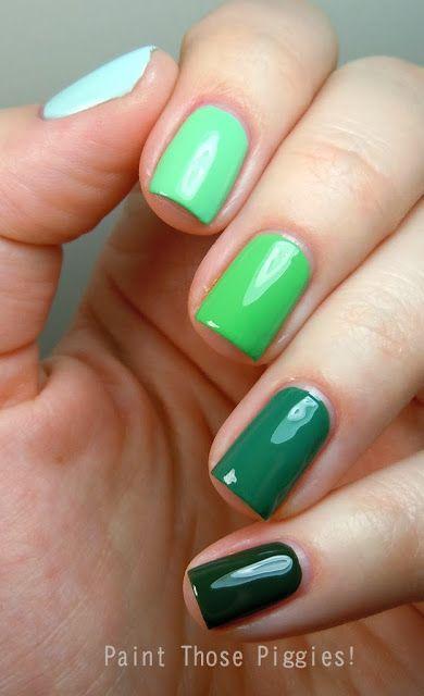 Best 25+ Different Color Nails Ideas On Pinterest