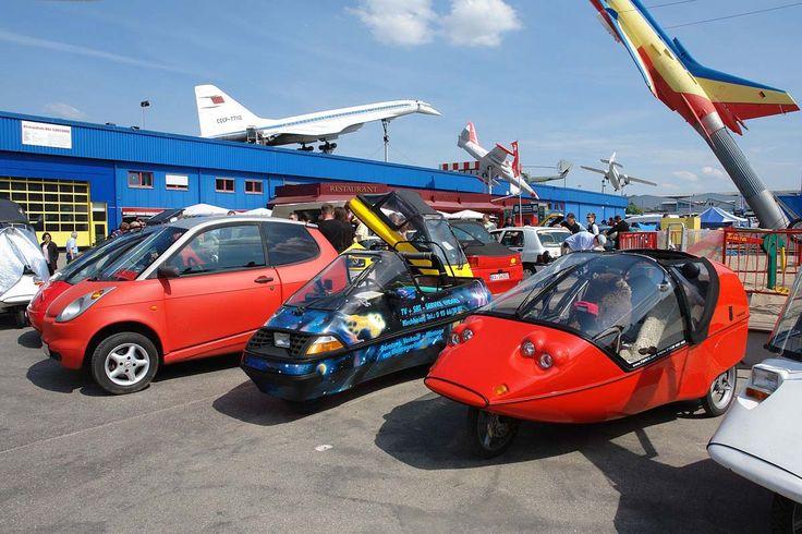 Treffen von Fahrzeugen mit alternativem Antrieb am 18. April 2015 im Auto & Technik Museum Sinsheim