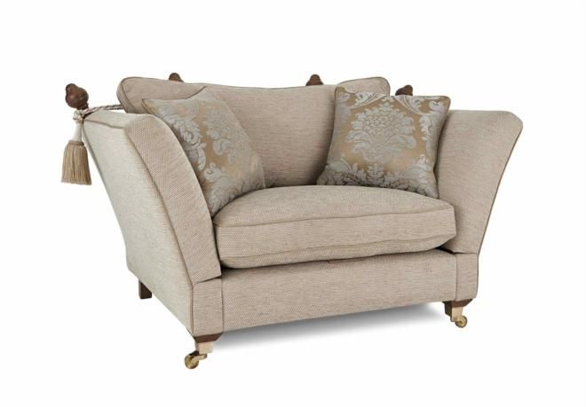 Knole snuggler chair vantage living room furniture for F furniture village