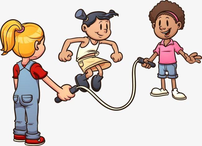 ناقلات تخطي الطفل طفل حبل الطفر كارتون الأطفال Png وملف Psd للتحميل مجانا Cartoon Kids Clip Art Children