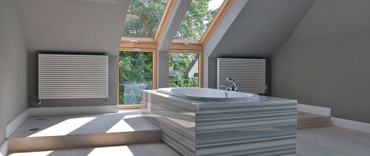 Karen Schwichtenberg Architekt Hamburg Dachgeschossausbau Sanierung Marmorbad