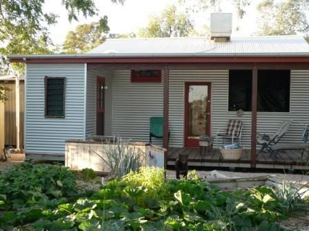 Corrugated iron clad house house plans pinterest for Beach house builders gippsland