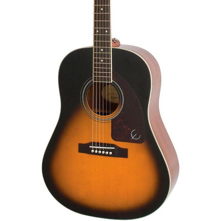 Epiphone aj220s acoustic guitar guitar guitar lessons
