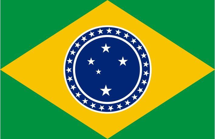 Brazil Flag Southern Cross