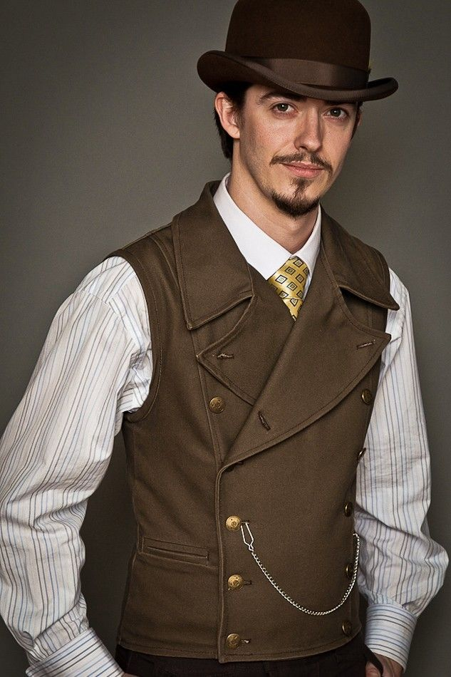 Steampunk vest by Lastwear. I so want to make one for my love