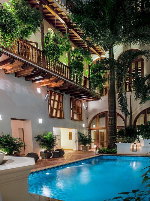 Cartagena de Índias (Colombia) - boutique hotel called Casa San Agustín
