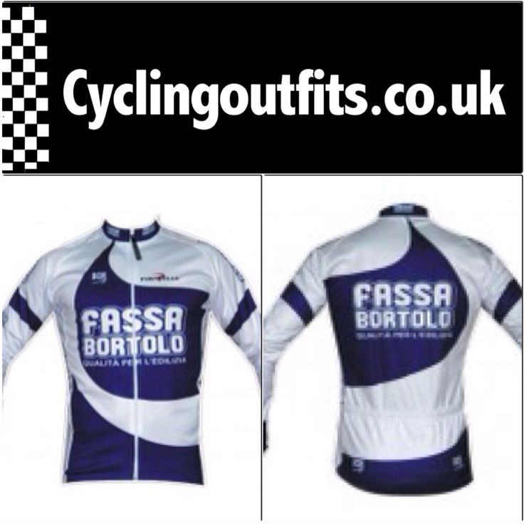 Only one of these uber cool retro Fassa Bortolo long sleeve jerseys left!