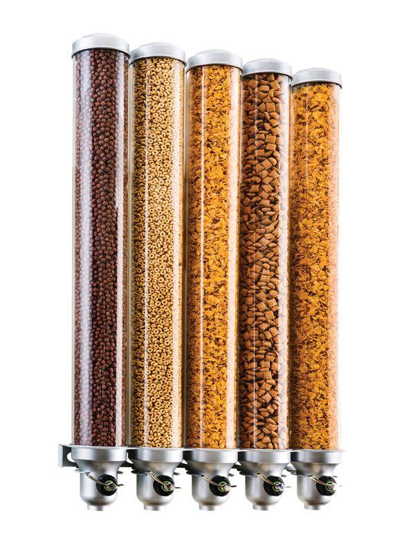 Item: 3618-5-39FF Wall Mount Bulk Cereal Dispenser