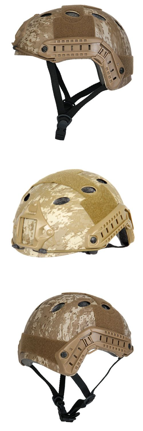 Hats and Headwear 177892: Military Milsim Tactical Airsoft Paintball Desert Digital Helmet Swat Police Dd -> BUY IT NOW ONLY: $39.75 on eBay!