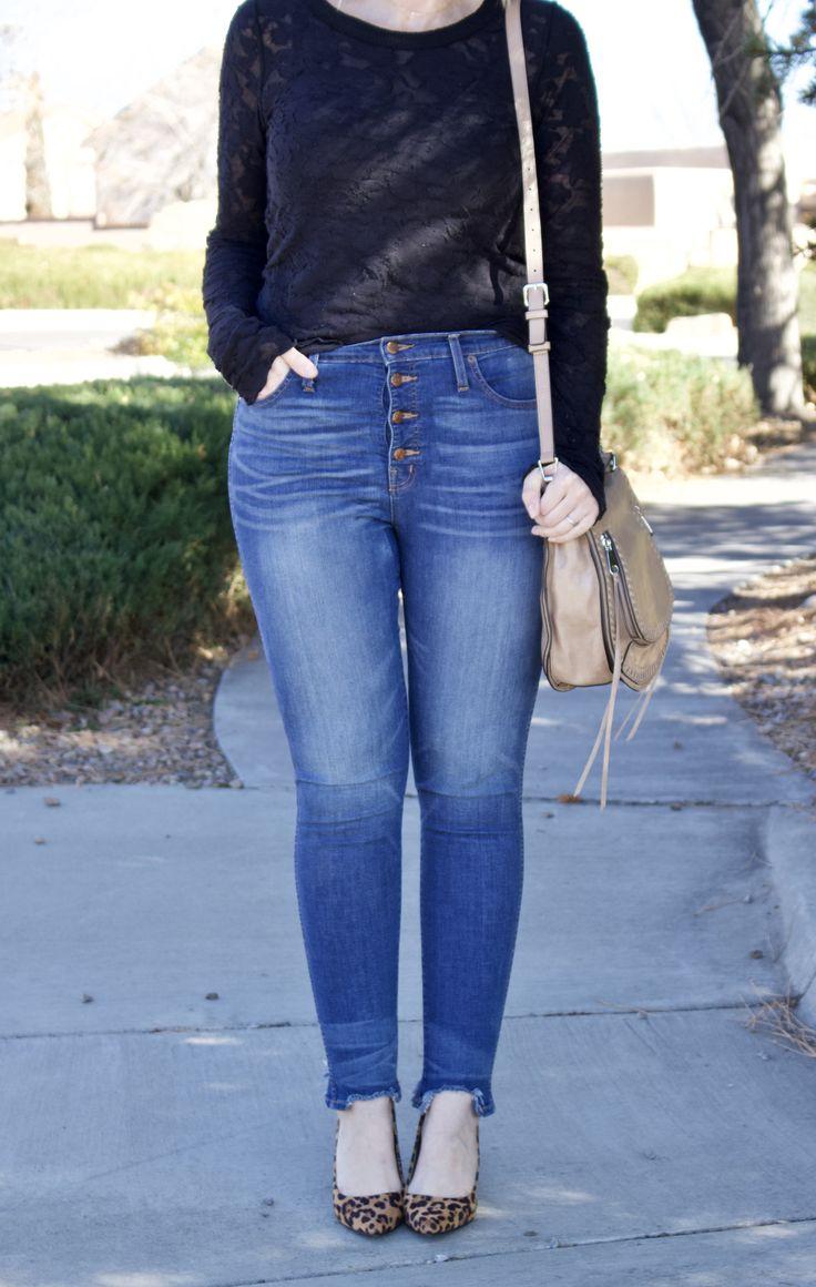 high waisted jeans curvy fashion #curvy #highwaistedjeans #datenightlook