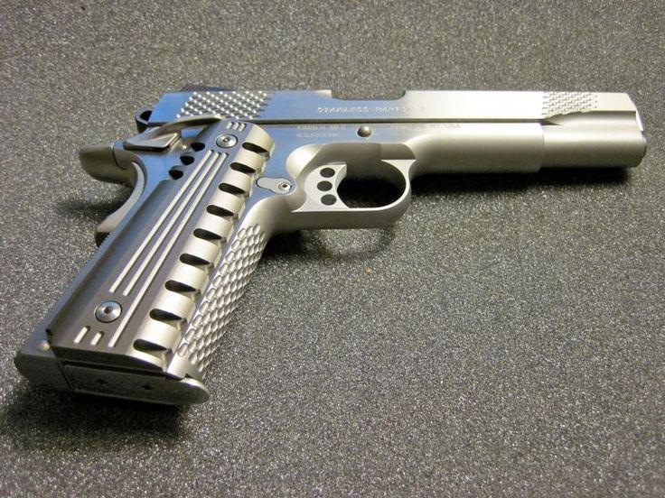 Custom Colt 1911 | Custom Aluminum Pistol Grips Colt Kimber 45 1911