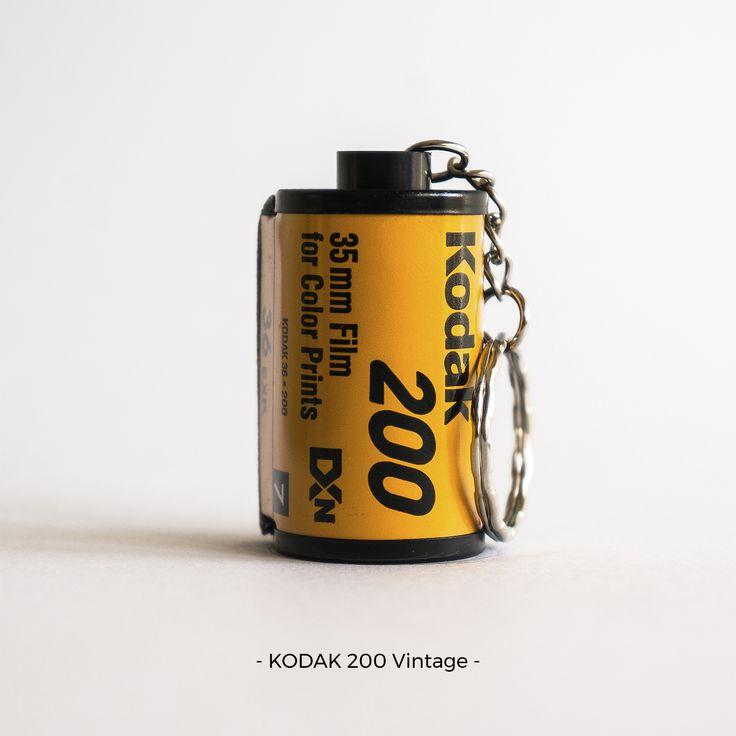 KODAK 200 Vintage | 35mm film photography | keychain