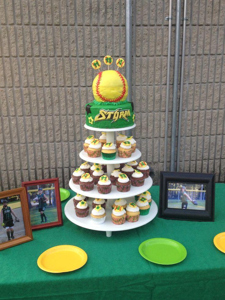 Best 25 Softball cupcakes ideas on Pinterest Baseball cupcakes