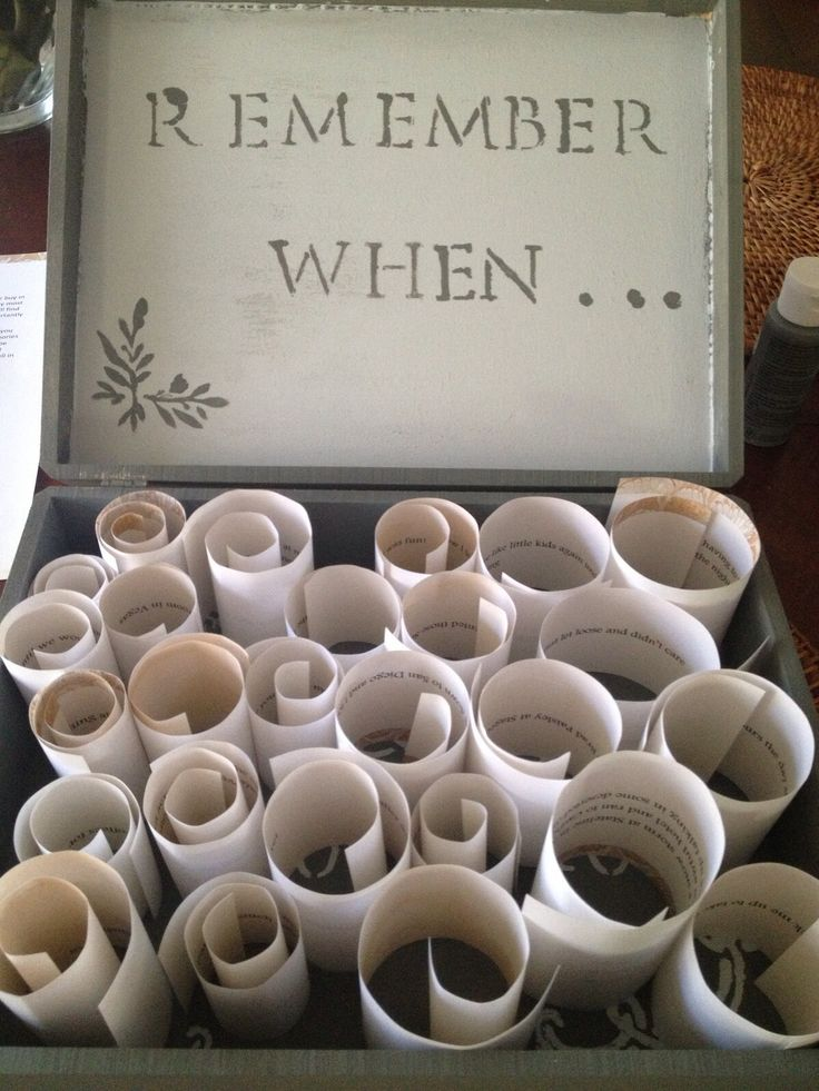 17 best anniversary ideas on pinterest anniversary ideas for Sentimental gift ideas
