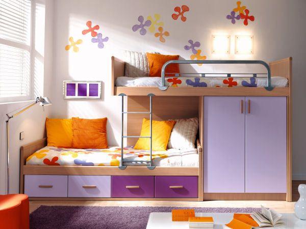 Decoracion de cuartos para 2 ni os de 8 a 12 a os google - Dormitorios infantiles nina ...