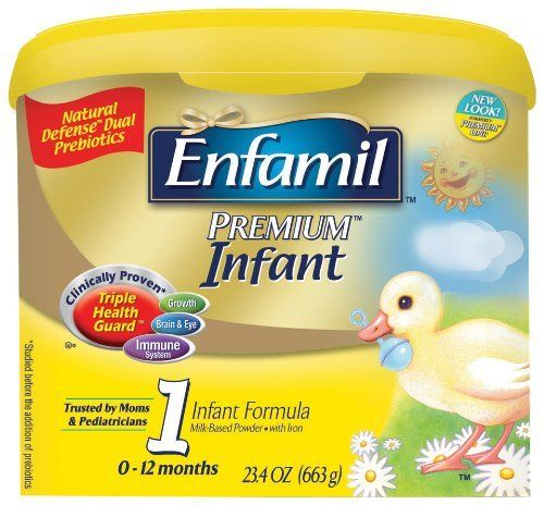 Enfamil Infant is nutritionally tailored to help support older milestones like grasping. Enfamil Infant Ingredients NONFAT MILK LACTOSE VEGETABLE OIL...