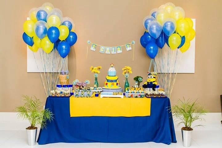 Idea para decorar tu fiesta temática Minions