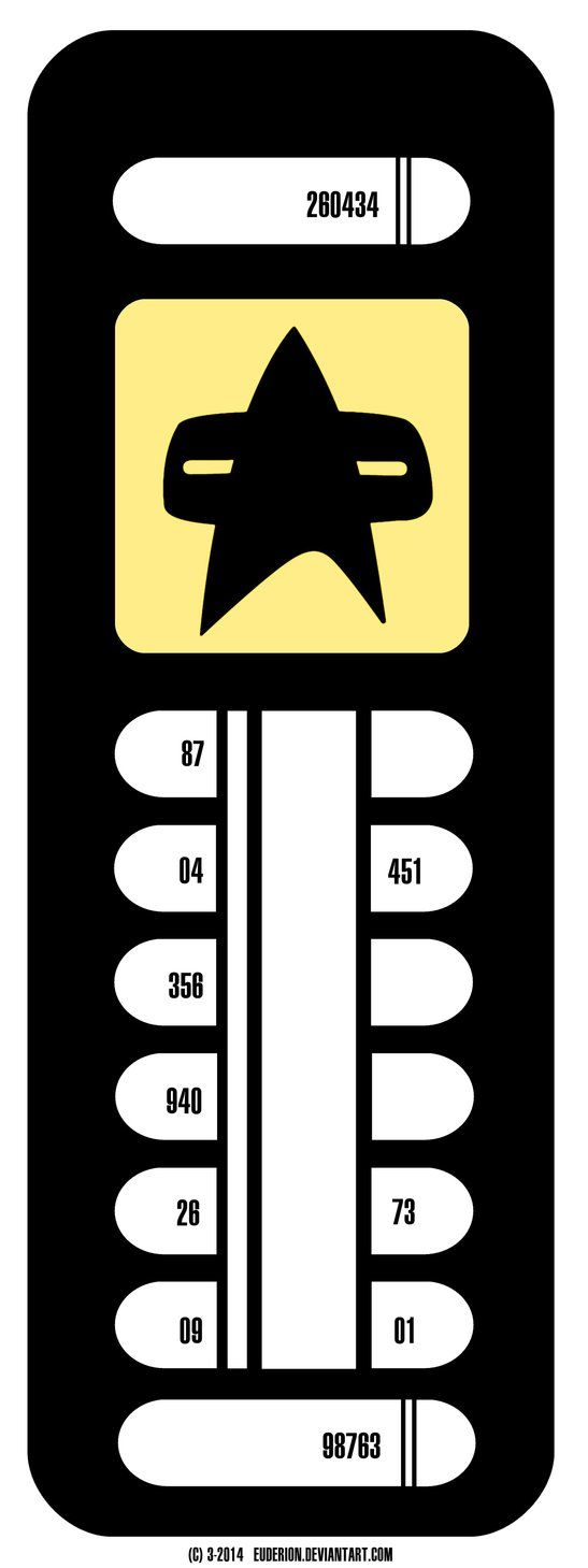 LCARS Label Design for Doors. Made in bigger resolution for printing and using in a Star Trek Fanfilm. Made with Paint Shop Pro 7.