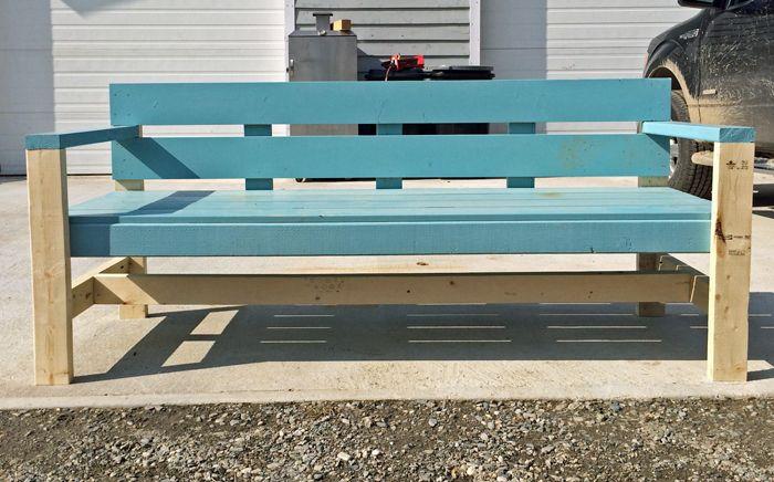 Modern Park Bench Diy Garden Furniture Outdoor Bench Plans Furniture Diy