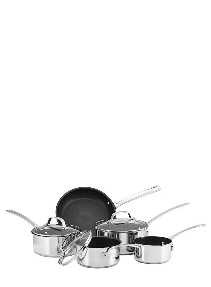 Circulon Genesis 5 piece stainless steel cookware set